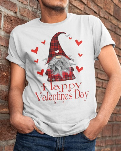 Gnome Valentine Apparel T Shirt