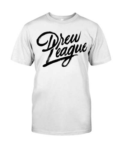 drew league script t shirt