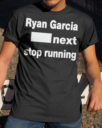 ryan garcia next stop running shirt