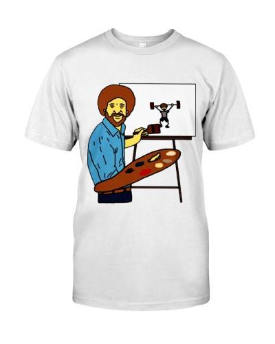 Rusev Bob Ross Gym Shirt Jersey