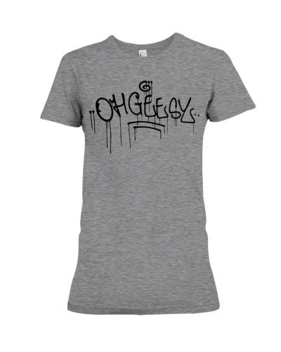ohgeesy logo hyv shirt