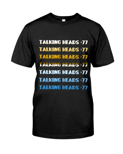 Talking heads T shirt christmas day shirt