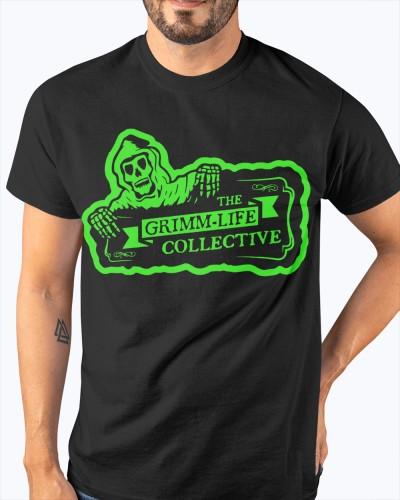 Monster Green Grimm-Life Logo Shirt