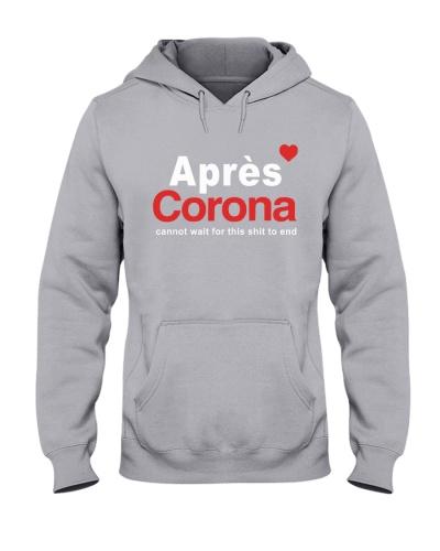 apres corona tee shirt