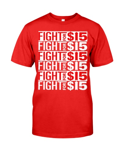 fight for 15 t shirt