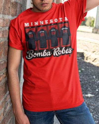 Bomba Robes Minnesota Baseball shirt
