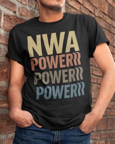 National Wrestling Alliance Powerrr Stack Shirt