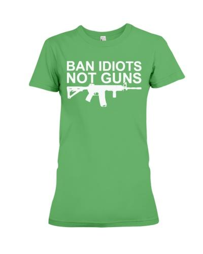 ban idiots not guns shirt