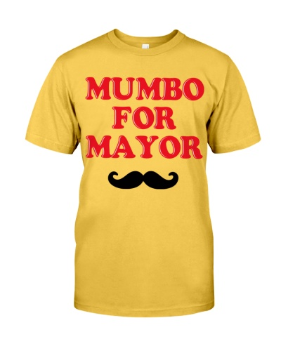 mumbo for mayor shirt