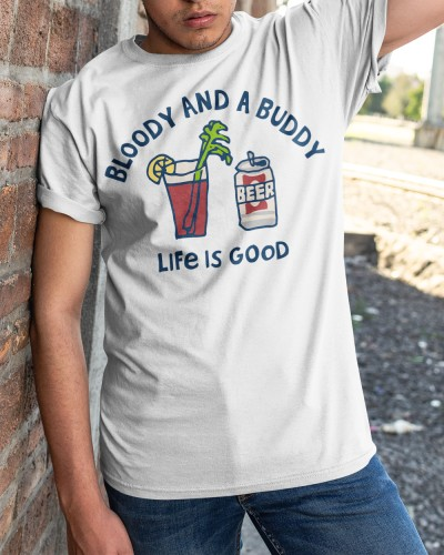 Womens Bloody And A Buddy Shirt