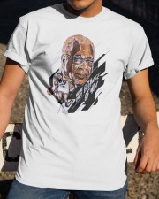 Toronto Raptors wayne embry because of you shirt Classic T-Shirt apparel-classic-tshirt-lifestyle-28