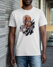 Toronto Raptors wayne embry because of you shirt Classic T-Shirt apparel-classic-tshirt-lifestyle-front-40