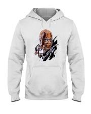 Toronto Raptors wayne embry because of you shirt Hooded Sweatshirt thumbnail