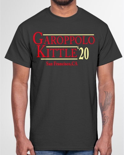 garoppolo kittle 2020 San Francisco shirt