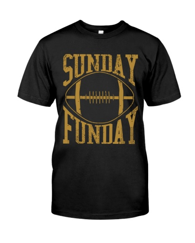 Sunday Funday Gold Football Jersey