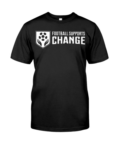 football support change t shirt
