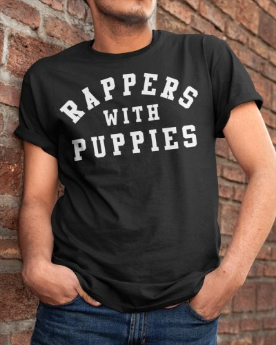rappers with puppies shirt