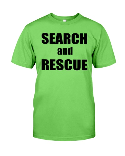 trump search and rescue shirt