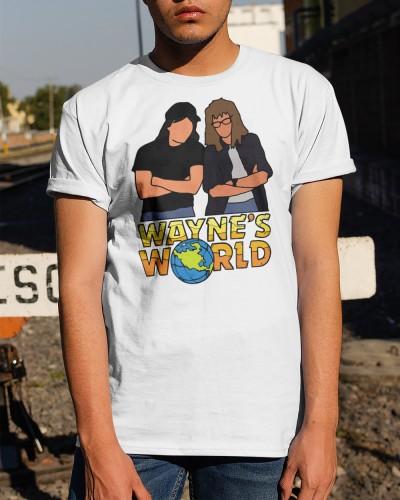 waynes world t shirt