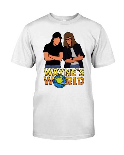 waynes world shirt