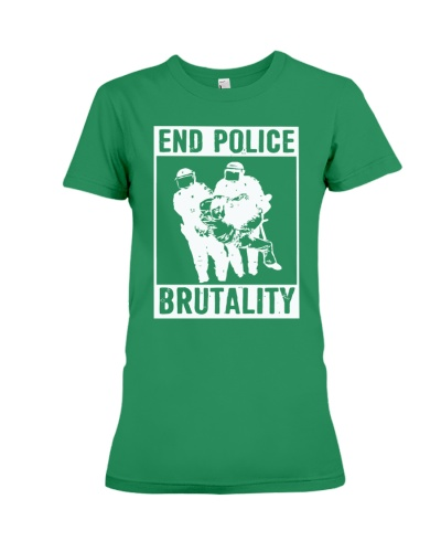 end police brutality shirt