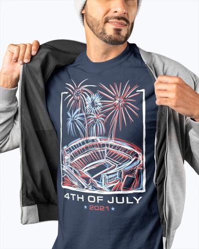 G Bdogs Stadium Fireworks Shirt