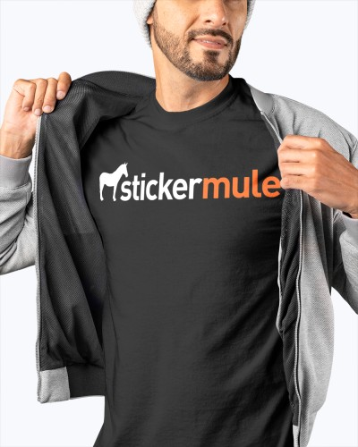 Sticker Mule shirt