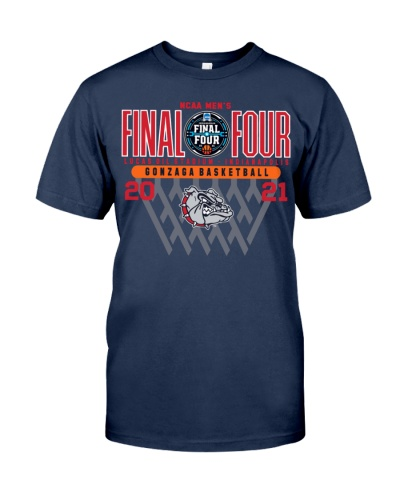 Gonzaga Basketball 2021 Final Four T Shirt