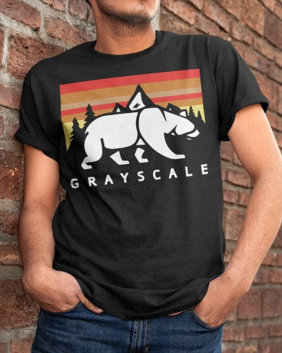 grayscale merch shirt