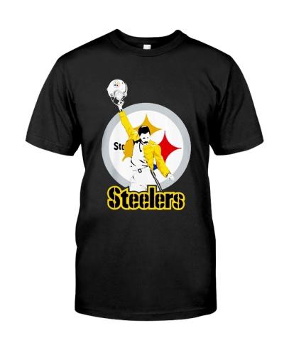Freddie Mercury Pittsburgh Steelers shirt Jersey