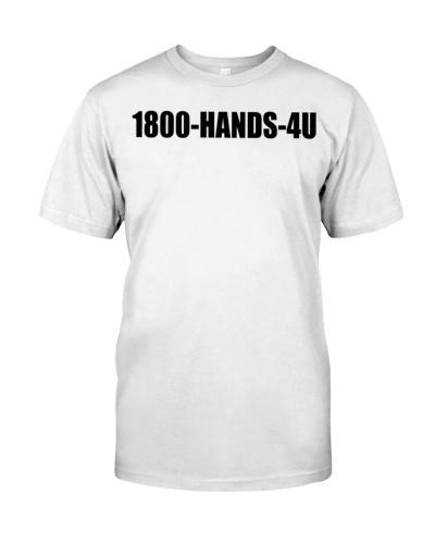 1800 hands 4u t shirt