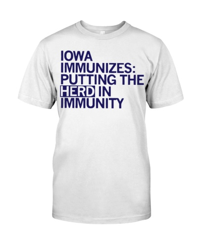 Iowa Immunizes 2021 Shirt