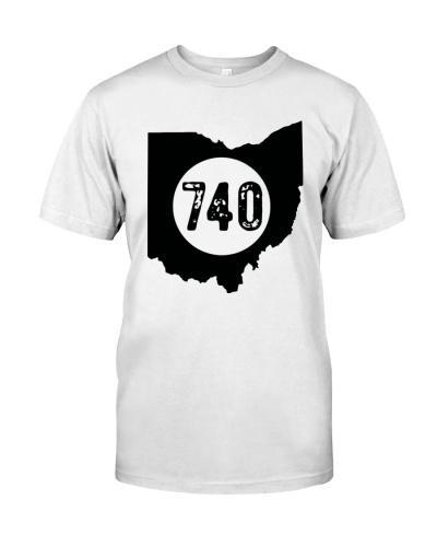 Area code 740 shirt