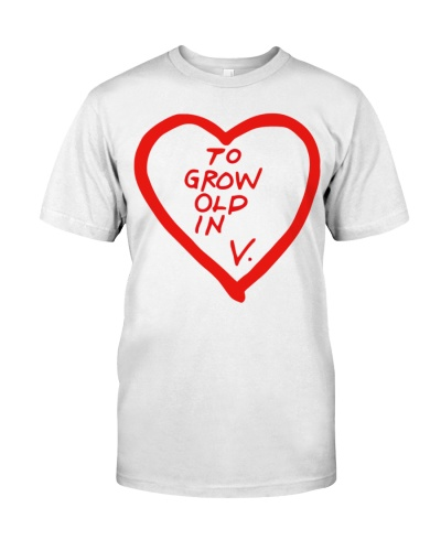 Wandavision to grow old in love t shirt