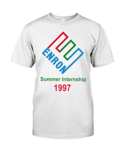 enron summer internship t shirt