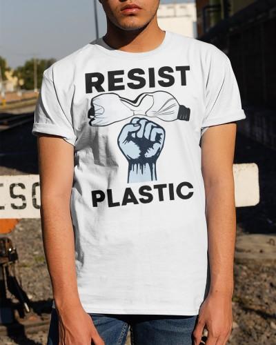 Resist Plastic Shirt