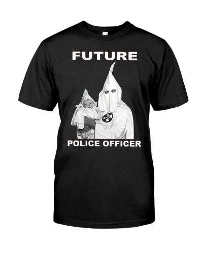 future police officer t shirt