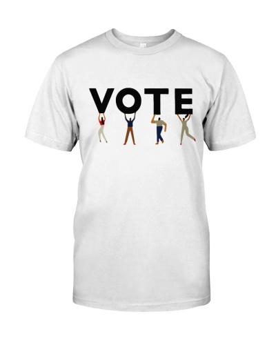 Vote Graphic Tomboy Tee