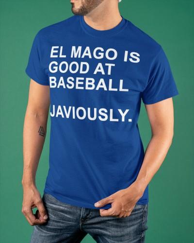 El mago is good at baseball javiously shirt