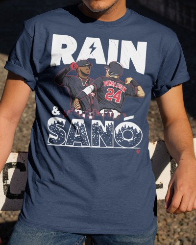 rain and sano shirt