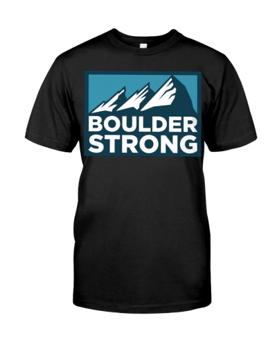 Boulder Strong T Shirt