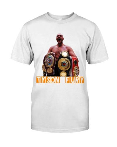 Tyson Fury Champion Shirt