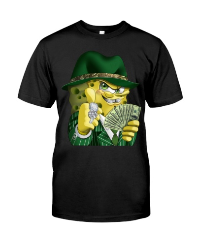 official gangster spongebob t shirt