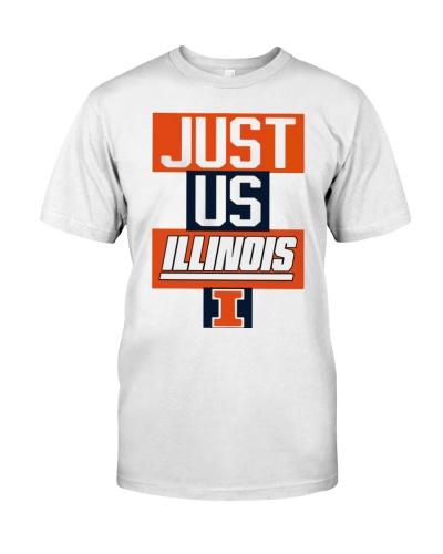 just us illinois t shirt