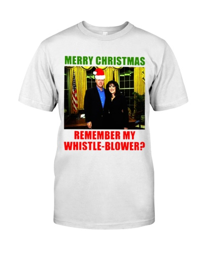 Merry Christmas Remember My Whistle-Blower Shirts
