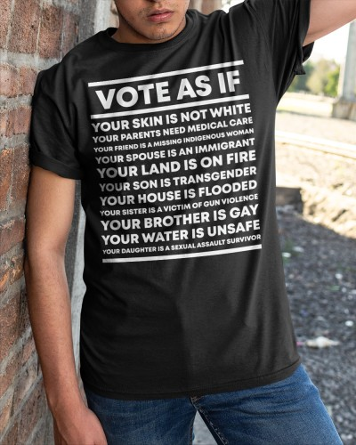 vote as if shirt