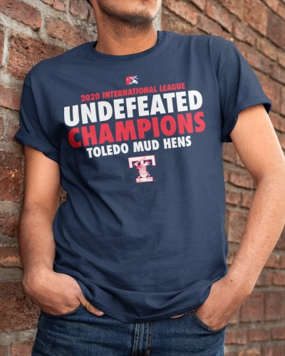 Toledo Mud Hens Undefeated 2020 Champs T Shirt