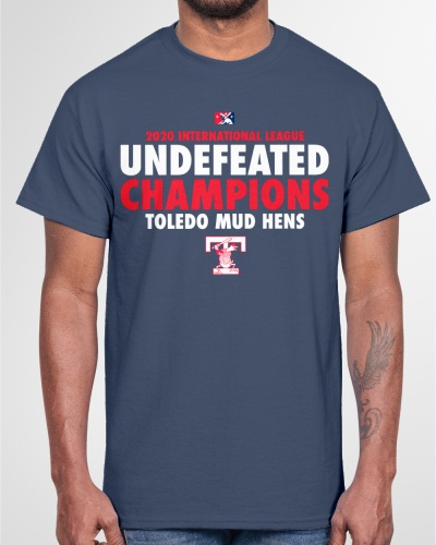 Toledo Mud Hens Undefeated 2020 Champs Shirt