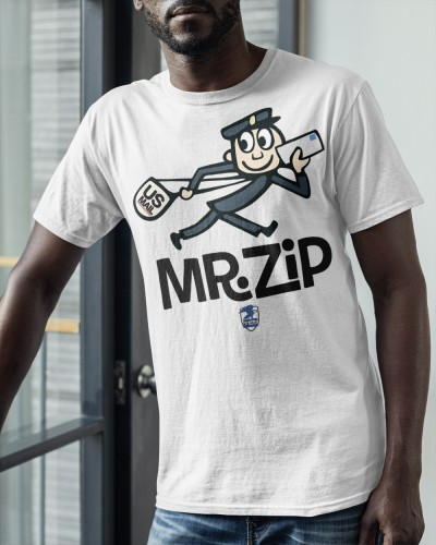mr zip shirt