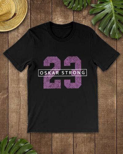 Oskar Strong 23 T shirt Jersey